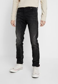 Diesel - TEPPHAR-X - Slim fit jeans - black denim - 0