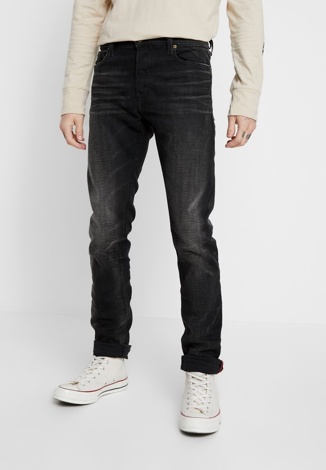 TEPPHAR-X - Slim fit jeans - black denim