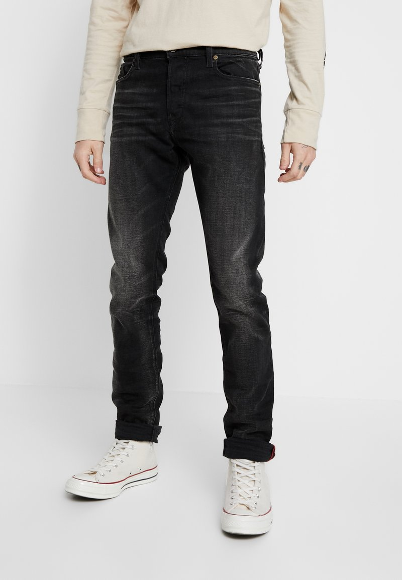Diesel - TEPPHAR-X - Slim fit jeans - black denim