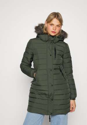 FUJI JACKET - Winter coat - dark moss
