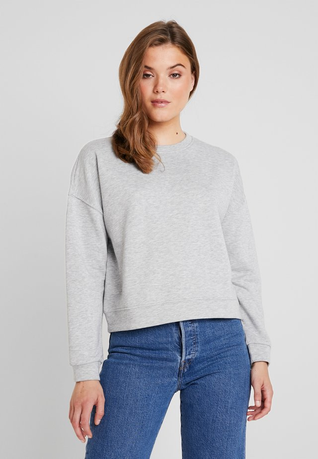 PCEMILA  - Collegepaita - light grey melange
