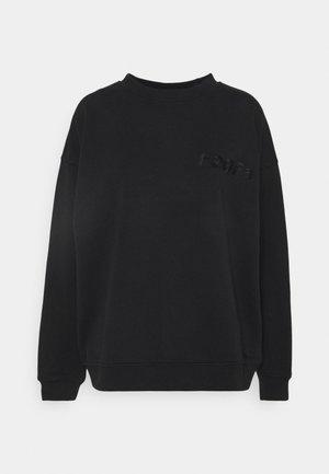 CREAM DOCTOR ONECK - Sweatshirts - black