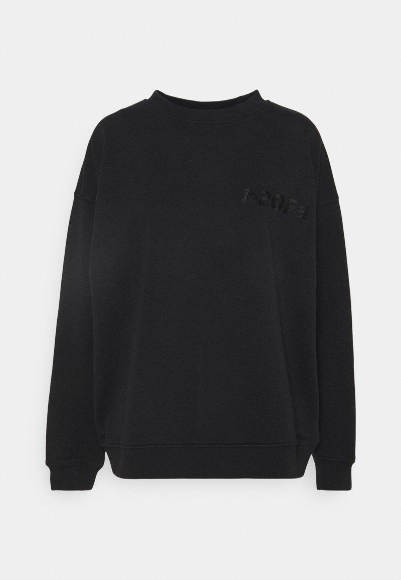 H2O Fagerholt - CREAM DOCTOR ONECK - Sweatshirt - black