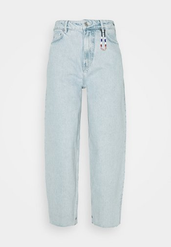 HIGH RISE BALLOON CRYSTALIZED IN TIME - Relaxed fit jeans - light-blue denim