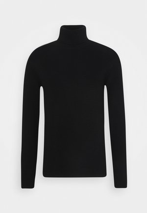 RRBROCK KNIT - Strikkegenser - black