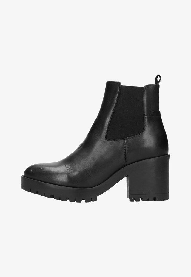 MIT ABSATZ - Korte laarzen - black