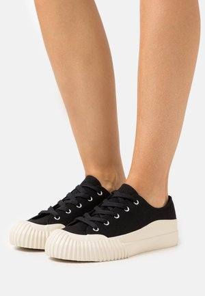 VEGAN SESAM - Sneakersy niskie - black
