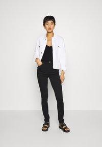 Calvin Klein Jeans - LOGO STRAP TANK - Top - ck black - 1