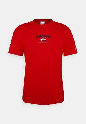 TIMELESS SCRIPT TEE UNISEX - T-shirt con stampa - red