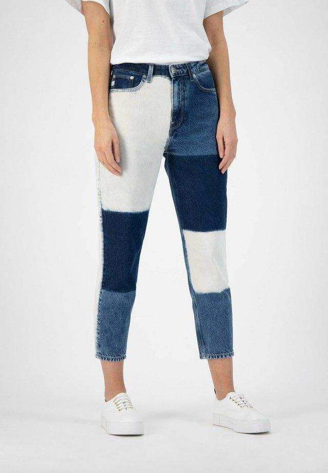 Straight leg jeans - bio bleach