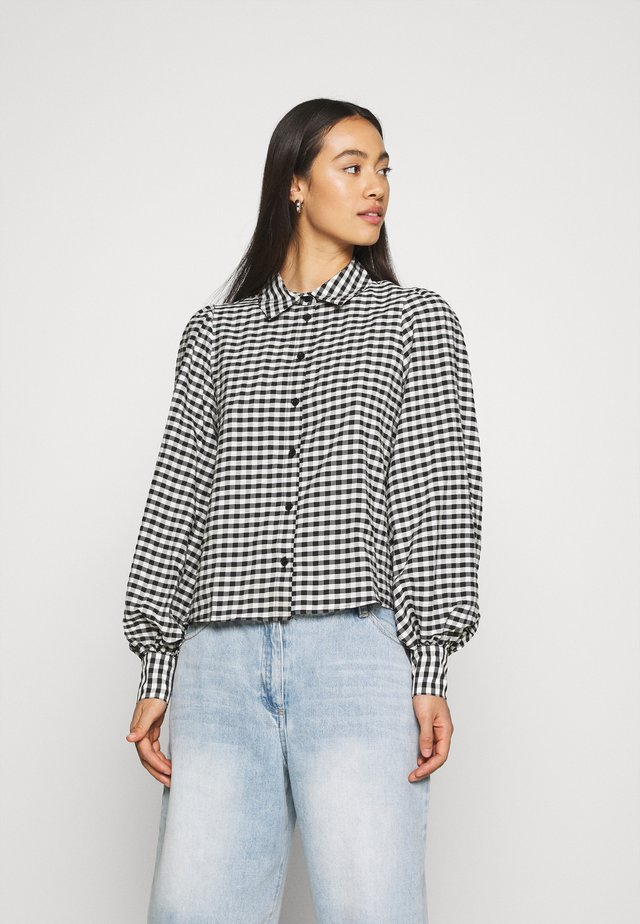 VALLON BLOUSES - Overhemdblouse - black/white