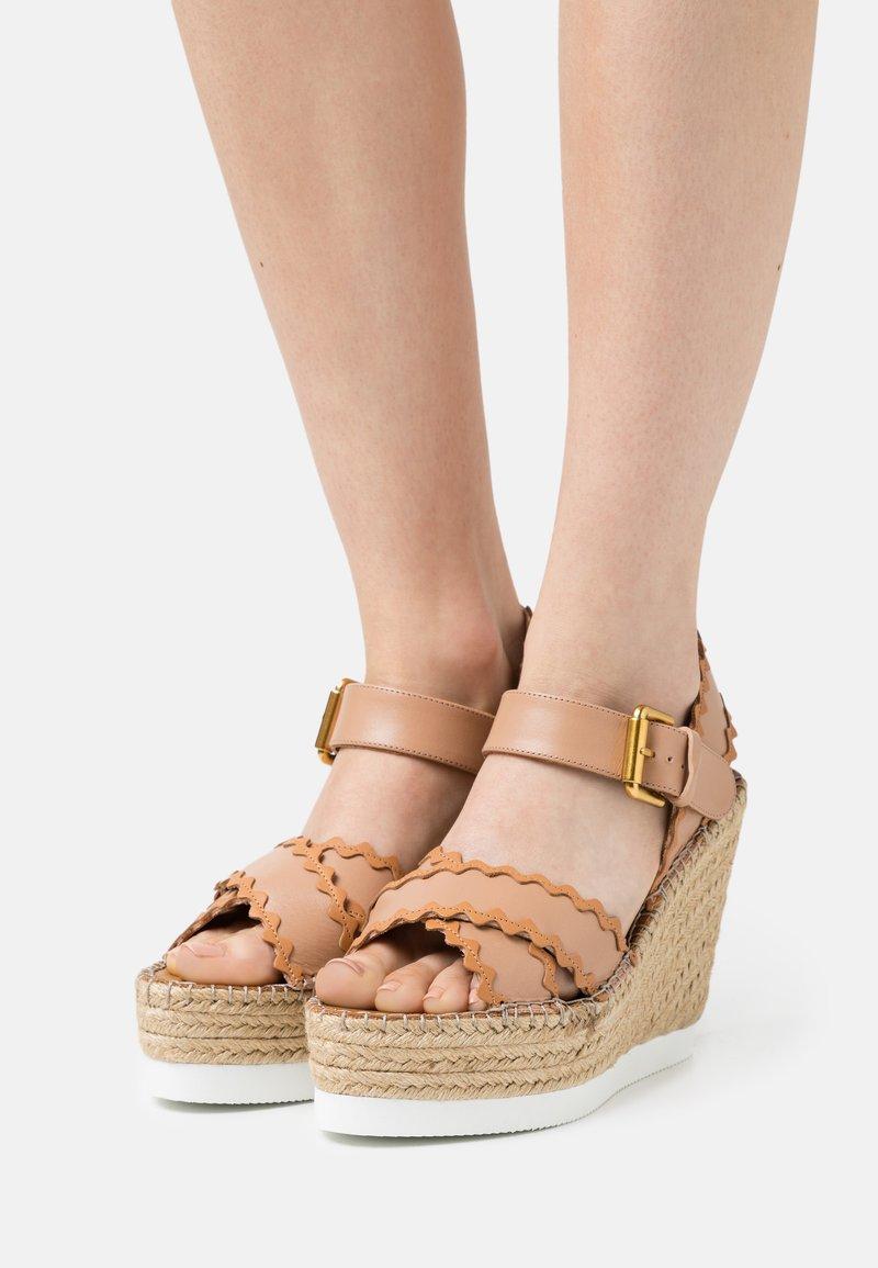 See by Chloé - GLYN - Platform sandals - nude