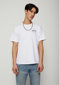 Levi's® - FIT TEE - T-shirt con stampa - neutrals - 0
