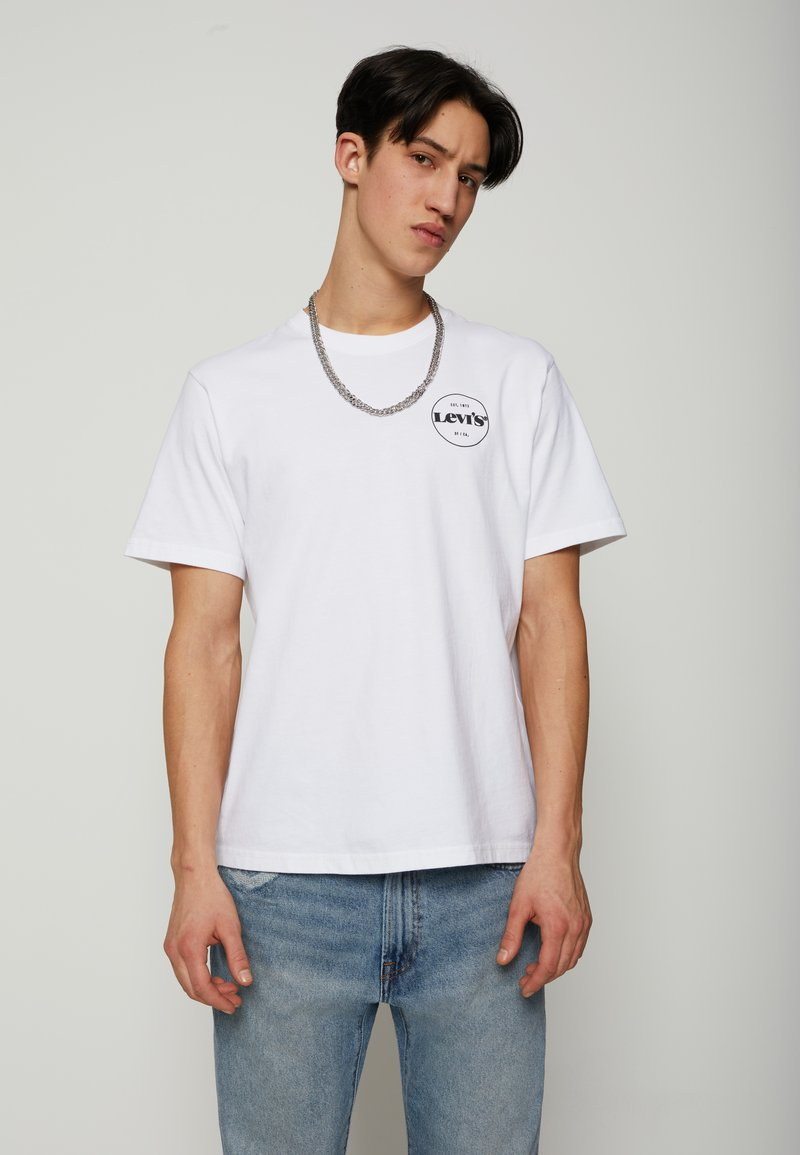 Levi's® - FIT TEE - T-shirt con stampa - neutrals