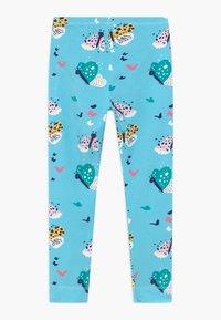 Walkiddy - FUNNY BUTTERFLIES 2 PACK - Leggings - Trousers - turquoise/dark blue - 1