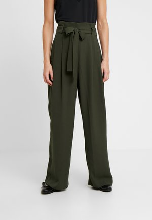YASEMIN LONG TROUSERS - Pantaloni - deep depth