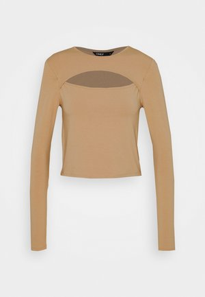 ONLLIVE LOVE DETAIL - Long sleeved top - warm sand