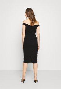 WAL G. - RYLIE BAND MIDI DRESS - Sukienka koktajlowa - black - 2