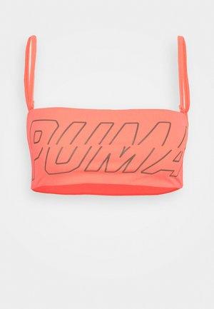 SWIM WOMEN BANDEAU - Bikini top - pink