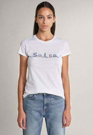 FRANCE - Print T-shirt - weiß