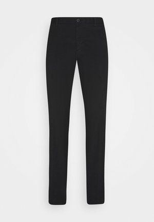 FLEX SLIM FIT PANT - Chino kalhoty - black