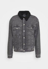 Calvin Klein Jeans - SHERPA JACKET - Jeansjacka - denim grey - 4
