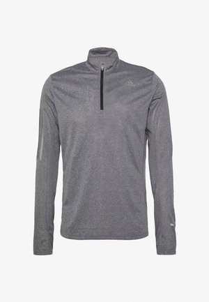AEROREADY SPORTS RUNNING LONG SLEEVE - Funktionsshirt - black/white