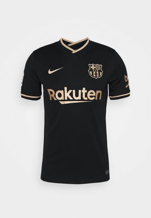 FC BARCELONA AWAY - Club wear - black/metallic gold