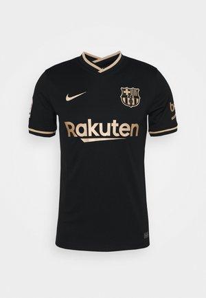 FC BARCELONA AWAY - Klubtrøjer - black/metallic gold