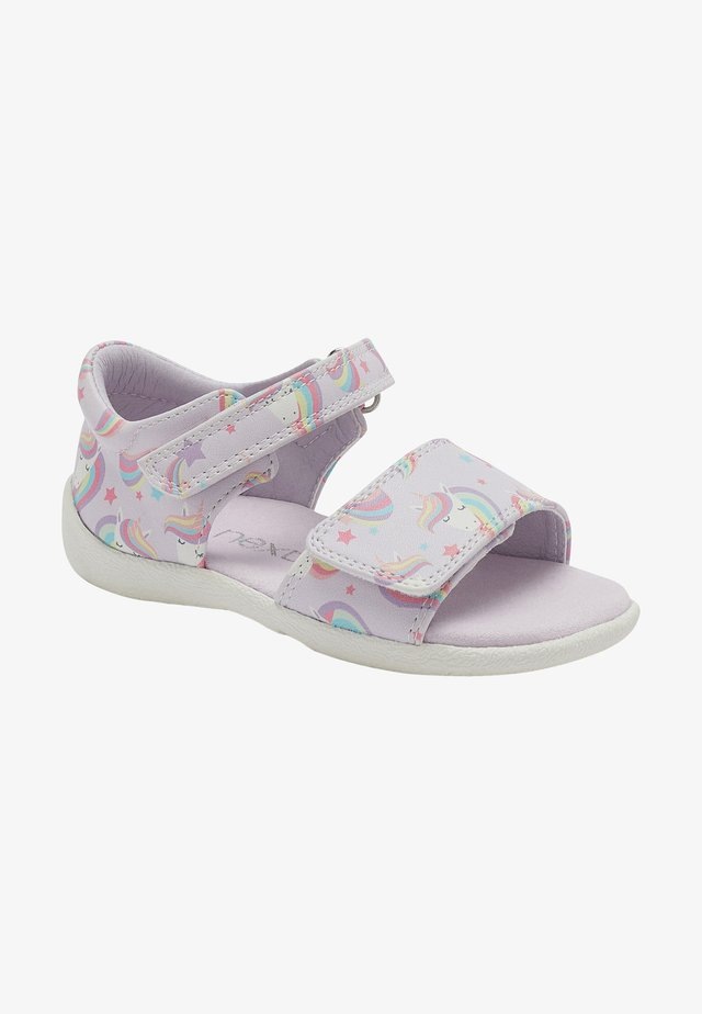 Sandály - lilac