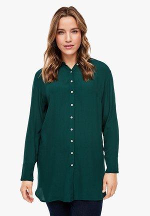 Button-down blouse - emerald