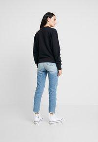 Calvin Klein Jeans - HIGH RISE SLIM ANKLE - Džíny Slim Fit - honcho blue - 2