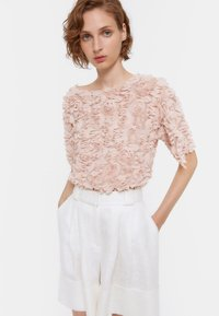 Uterqüe - Blouse - light pink - 0