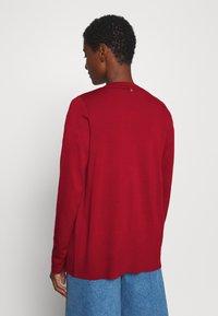 s.Oliver - LANGARM - Cardigan - dark red - 2