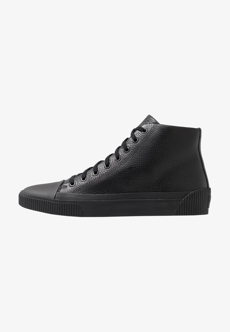 HUGO - Sneakersy wysokie - black