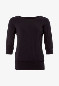 Curare Yogawear - Long sleeved top - black - 4