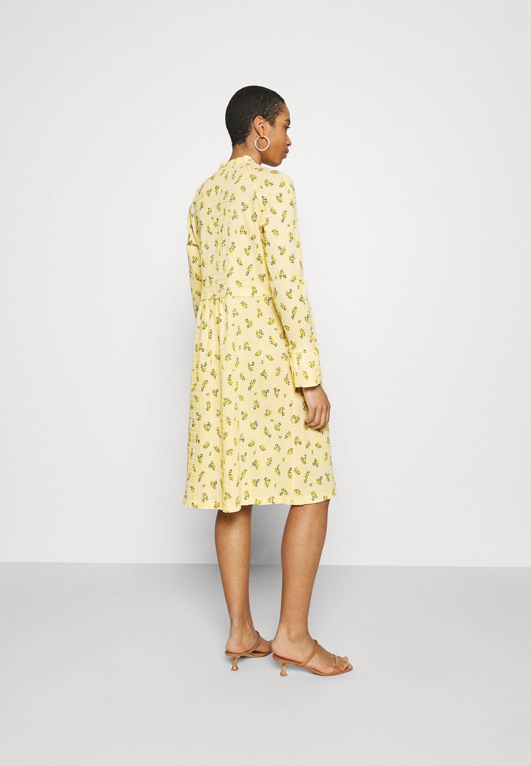 Women CRINKLE PRINT POP DUPINA - Day dress