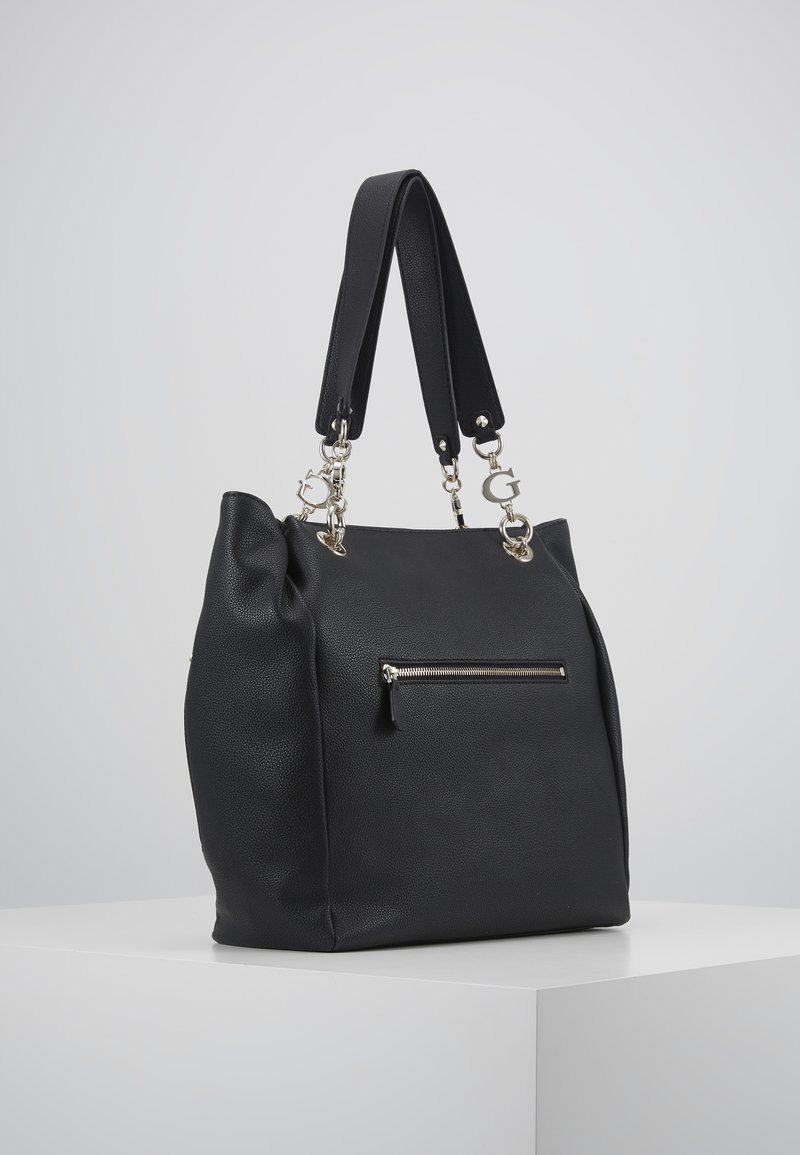 Guess - CHAIN TOTE - Tote bag - black