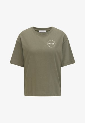 EVINA - T-shirt basic - dark green