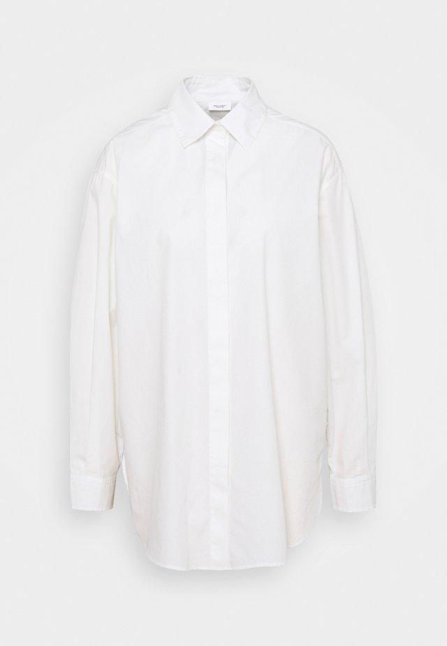 BLOUSE LONGSLEEVE - Blůza - scandinavian white
