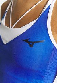 Mizuno - PRINTED DRESS - Jersey dress - dazzling blue - 4