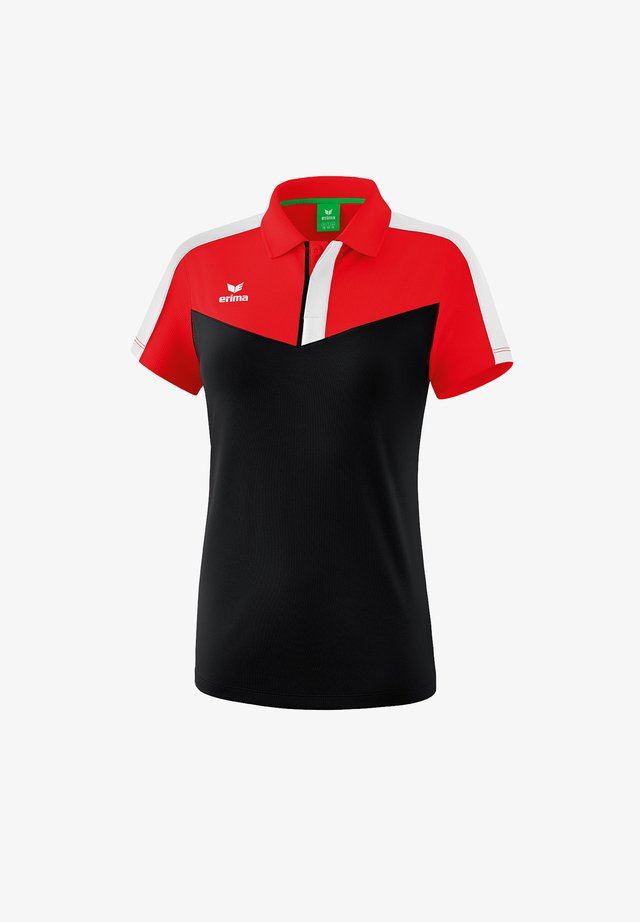 Polo shirt - red/black