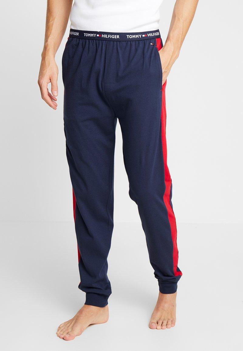 Tommy Hilfiger - PANEL PANT - Pyjama bottoms - blue