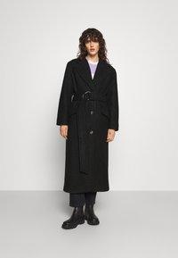 Marimekko - IHMETELLEN COAT - Classic coat - black - 0