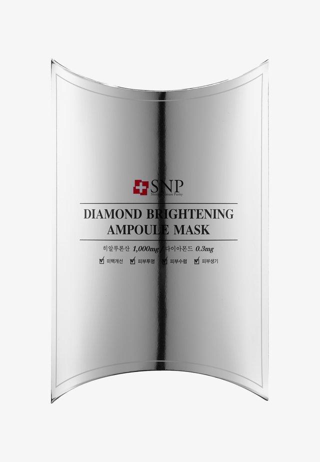 SNP DIAMOND BRIGHTENING AMPOULE MASK 10 PACK - Gesichtsmaske - -