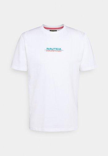 SCUTTLES - Print T-shirt - white