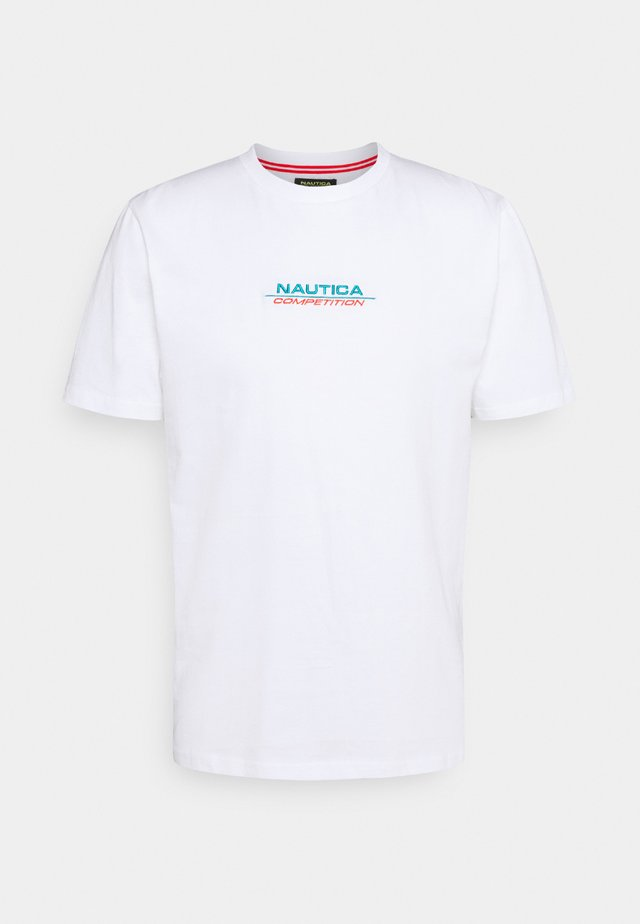 SCUTTLES - T-shirt con stampa - white