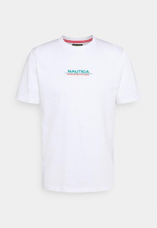 SCUTTLES - T-shirts print - white