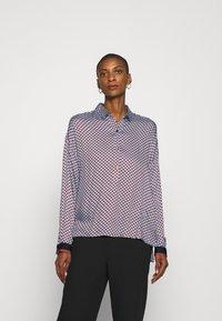 Emily van den Bergh - Button-down blouse - brown/bleu - 0