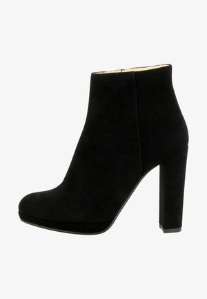 CRISTINA - High heeled ankle boots - schwarz